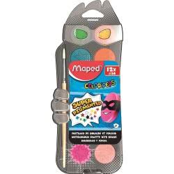 Maped Color Peps Νερομπογιές 30Mm 12 Χρώματα 811520 3154148115205
