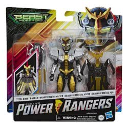 Hasbro Power Rangers Beast Morphers Steel Robot Ranger E5899 / E6904 5010993609666