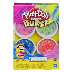 Hasbro Play-Doh Color Burst Bright Colors E6966 / E8060 5010993618750