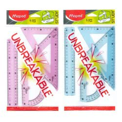 Maped Study Unbreakable Drawing Set 4 Pcs With Ruler Cm. 20 981703 3154149817030