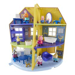 GIOCHI PREZIOSI Peppa Pig Το Σπίτι Της Οικογένειας Της Πέππα PPC22000 8056379034179