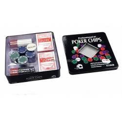 ZITA TOYS Poker Με Μάρκες Και Τράπουλες 008.T103  5204258048936