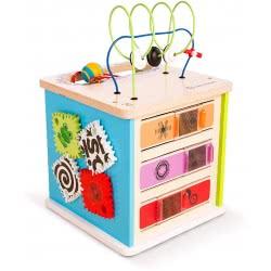 Hape Baby Einstein Kids II Innovation Station Ξύλινος Κύβος Δραστηριοτήτων 800808G53 074451116566