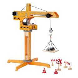 Hape Crane Lift Μεγάλος Ανυψωτικός Γερανός E3011 6943478011977