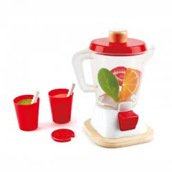 Hape Playfully Delicious Smoothie Blender Ξύλινο Σετ Μιξερ E3158 6943478024137