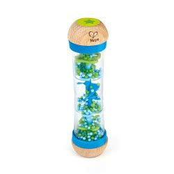 Hape Early Melodies Beaded Raindrops Wooden Toy - Blue E0328 6943478012790
