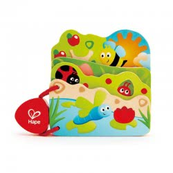 Hape Early Explorer Baby Is Bug Wooden Toy E0043 6943478020290