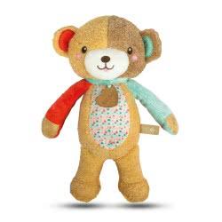 Clementoni baby Love Me Bear Βρεφικό Χνουδωτό Αρκουδάκι Δραστηριοτήτων 1000-17267 8005125172672