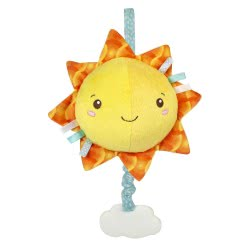 Clementoni baby Soft Sun Musical Plush 1000-17270 8005125172702