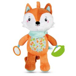 Clementoni baby Happy Fox Musical Activity Plush 1000-17271 8005125172719