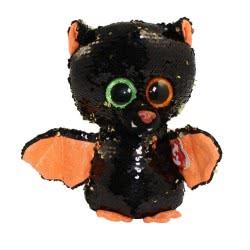 ty Flippables Omen Sequin Bat Plush - Purple 1607-36783 008421367832