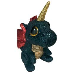 ty Grindal Dragon With Horn Plush 23Cm 1607-36457 008421364572