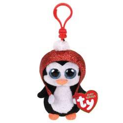 ty Gale Χνουδωτό Κλιπ Χριστουγέννων Πιγκουίνος 1607-35223 008421352234