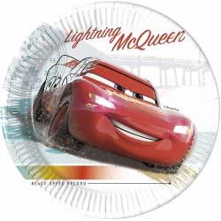 PROCOS Cars High Speed Χάρτινα Πιάτα Μεγάλα 23 Εκ - 8 Τεμάχια 090816 5201184908167