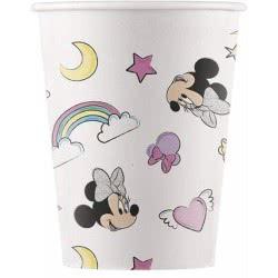 PROCOS Disney Minnie Unicorn Dreams Paper Cups 200Ml - 8 Pieces 090814 5201184908143