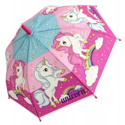 chanos Magical Unicorn Kids Umbrella 46Cm 9623 5203199096235