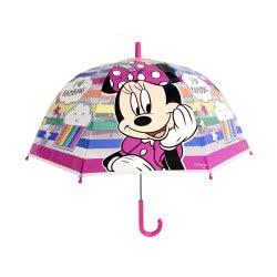 chanos Minnie Mouse I Love Rainbows Umbrella 48 Cm 3636 5203199036361