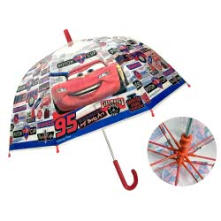 chanos Disney Pixar Cars Piston Cup Kids Umbrella 45Cm 3758 5203199037580