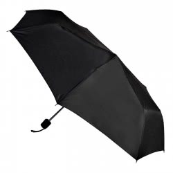 chanos Mens Umbrella 53Cm - Black 0212 5203199002120