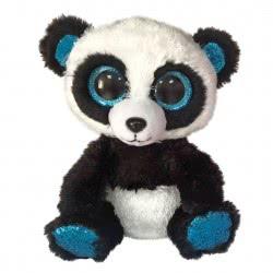 ty Bamboo Panda-Boo Χνουδωτό Πάντα 23 Εκ. - Μαύρο 1607-36463 008421364633