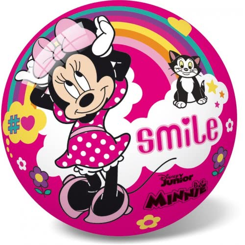 star Disney Minnie Smile Plastic Ball 23 Cm 12/2981 5202522129817