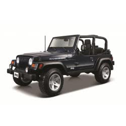 Maisto Special Edition 1:18 Jeep Wrangler Rubicon - Blue 31663 090159316633
