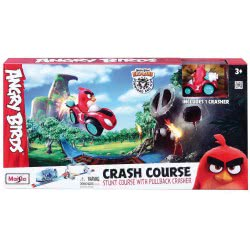 Maisto Angry Birds Crash Course Stunt Course With Pullback Crasher 23032 090159230328