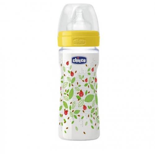 Chicco Mπιμπερό πλαστικό Well Being 0 BPA 250ml Θηλή Σιλικόνη A60-70704-01  8033828710747