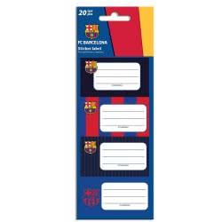 Diakakis imports Barcelona Sticker Labels 20 Stickers - 5 Designs 000170700 5205698451959