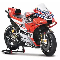 Maisto Ducati Moto Gp Desmosedici Andrea Dovizioso Motorcycle 1:18 31593 090159315933