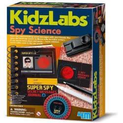 4M Kidzlabs Spy Science Super Spy Secret Messages Journal 3295 4893156032959