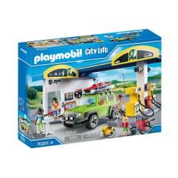 Playmobil City Life Gas Station Πρατήριο Καυσίμων 70201 4008789702012