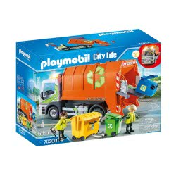 Playmobil City Life Recycling Truck Φορτηγό Ανακύκλωσης 70200 4008789702005
