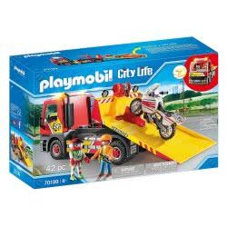 Playmobil City Life Towing Service Φορτηγό Οδικής Βοήθειας 70199 4008789701992
