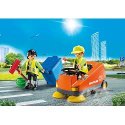 Playmobil City Life Street Sweeper 70203 4008789702036