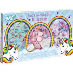 Totum 3 In 1 Creativity Set Unicorns TM025479 8714274025479