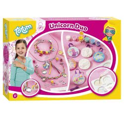 Totum Unicorn Duo Κατασκευή Κοσμημάτων 2 Σε 1 Plaster Unicorn TM025547 8714274025547