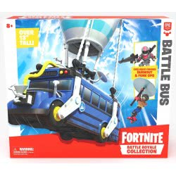 GIOCHI PREZIOSI Fortnite Battle Bus With Two Exclusive Figures FRT35000 8056379082507