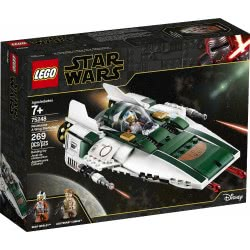 LEGO Star Wars Resistance A-Wing Starfighter Αστρομαχητικό Έι-Γουίνγκ Της Αντίστασης 75248 5702016370737
