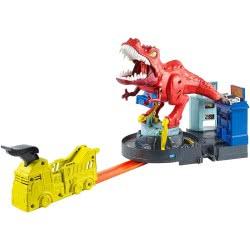 Mattel Hot Wheels T-Rex Rampage Δεινόσαυρος Τ-Ρεξ Με Ήχους GFH88 887961762563