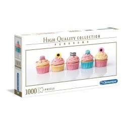 Clementoni Παζλ Panorama Licorice Cupcakes 1000Pcs 1220-39425 8005125394258