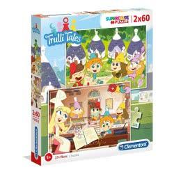 Clementoni Puzzle Trulli Tales 2X60pcs Supercolor 1200-21606 8005125216062