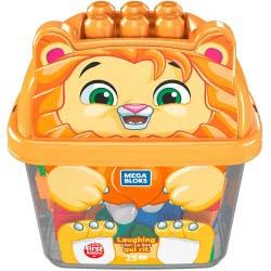 MEGA BLOKS Laughing Lion 25 Building Blocks GCT46 / GFM26 887961765564