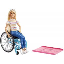 Mattel Babrie Fashionista Doll With Wheelchair GGL22 887961781441