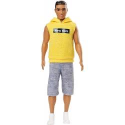 Mattel Ken Fashionistas Doll With Yellow Blouse New York 131 DWK44 / GDV14 887961752786