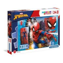 Clementoni Puzzle 24 Pcs Maxi Spider-Man 1200-28507 8005124285075