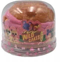 Just toys Wild Cakes Collection 2 Sweet With Wild Plush Animal - 12 Σχέδια 1712006F 815887024878