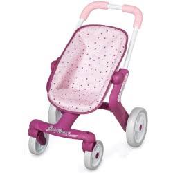 Smoby Baby Nurse Pop Pushchair - Pink 251203 3032162512036