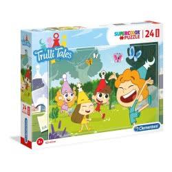 Clementoni Puzzle Supercolor Trulli Tales 24Pcs 1200-28504 8005125285044
