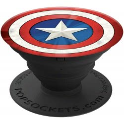 Popsockets Swappable Captain America Shield Icon Compatible With All Smartphones 101772 842978102856